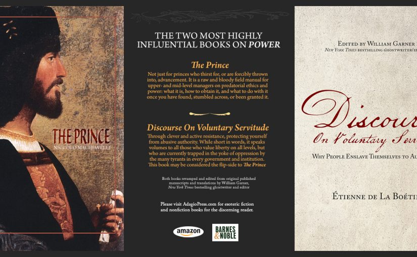 THE TWO MOST HIGHLY INFLUENTIAL BOOKS ON POWER